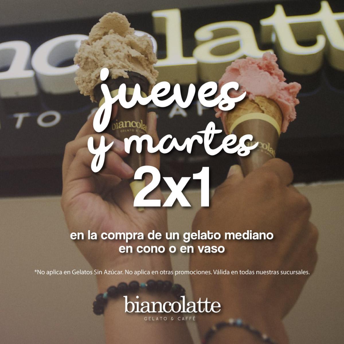 Promoción 1 De Biancolatte