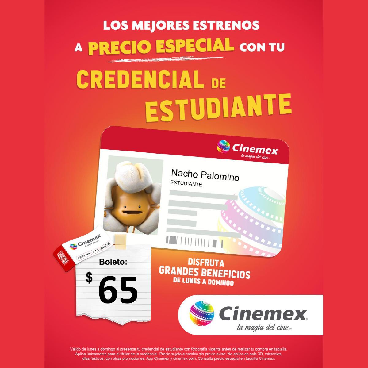 Promoción 1 De Cinemex