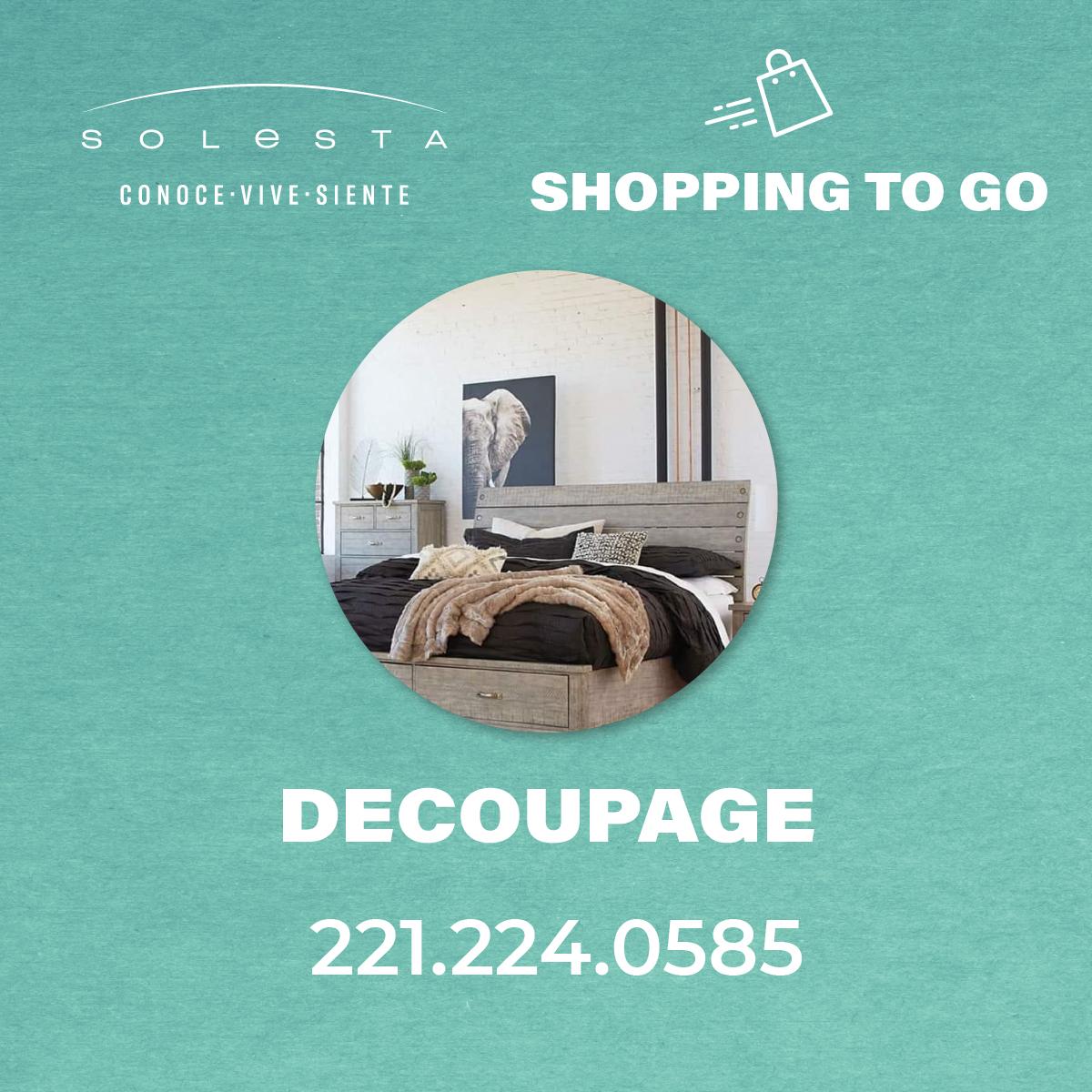Pick Up De Decoupage