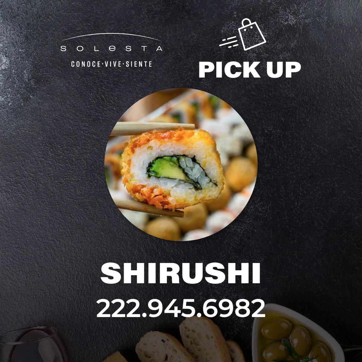 Pick Up De Shirushi