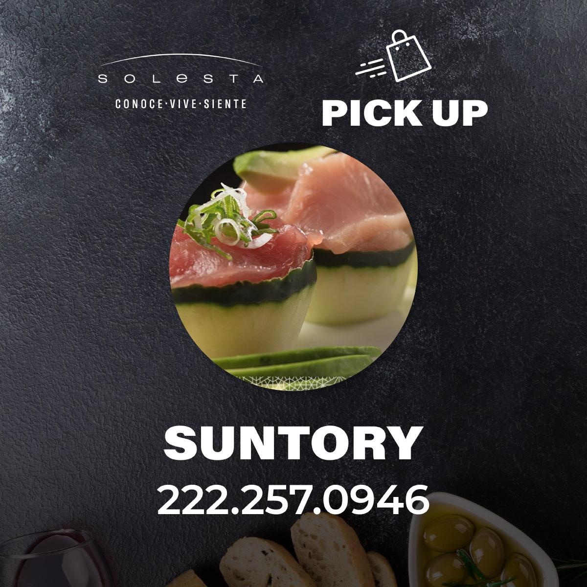 Pick Up De Suntory